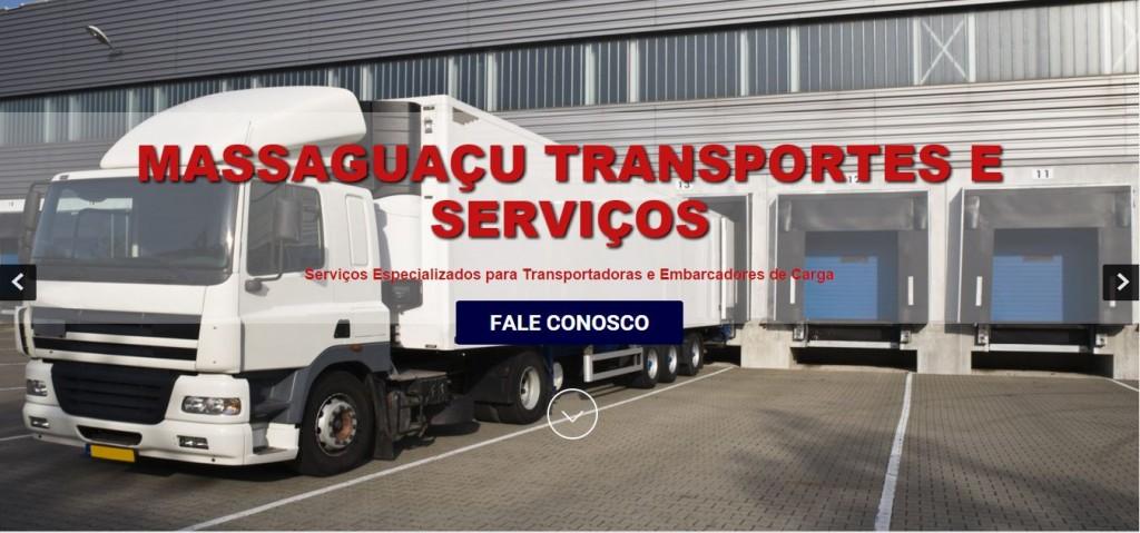 Site da Massaguaçu Transportes e Serviços
