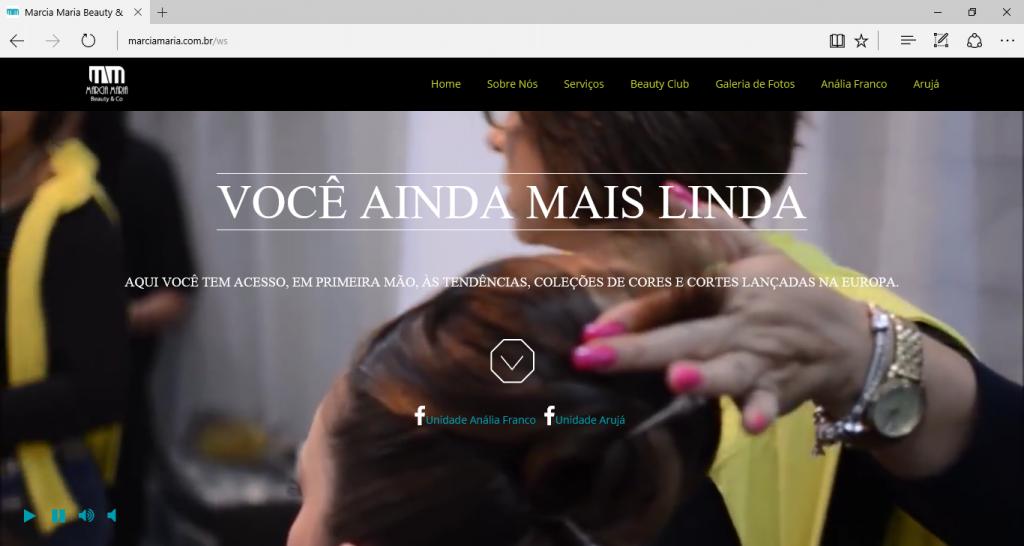 Uma Beleza de Website